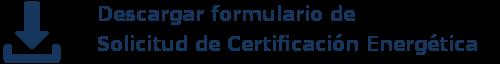 formulario Certificación Energética GM Norte