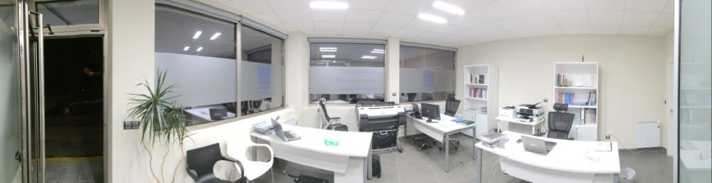Interior Oficina GM Norte